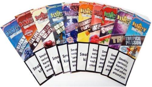 Juicy Jay Blunt Wraps Confezione da 10 pacchetti di cartine per sigarette aromatizzate