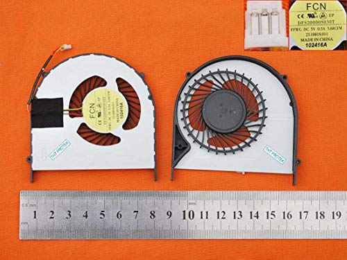 Kompatibel für Dell Inspiron 15R, 157000 7537 Lüfter Kühler Fan Cooler