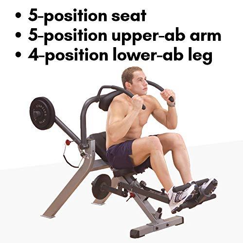 Body-Solid Semi-Recumbent Ab Bench (GAB300)