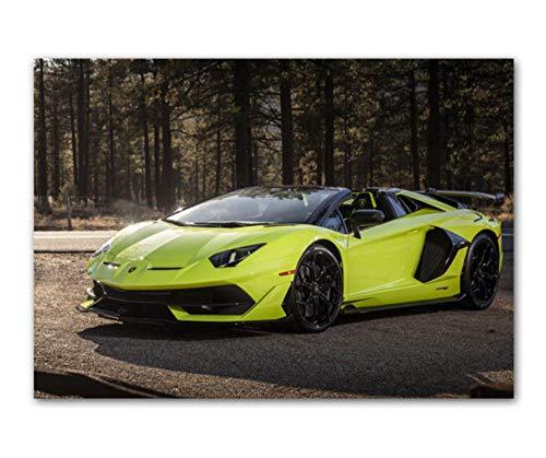JWJW Impresión en Lienzo de Pared Cuadros Lamborghini Coche Deportivo/Decoración del hogar Pintura 40X30CM sin Marco ID del Producto: 89