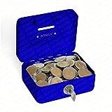Minigeldkassette Sparkassette BZ-17 von Bonzus® Kleine Mini Geldkassette mit Einwurfschlitz...