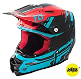 Casco Fly F2 Carbon 2018 Forge MIPS rojo, azul y negro L