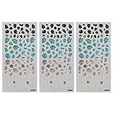 Minkissy 3 Hojas Pegatinas de Arte de Uñas Calcomanías Manicura Calcomanías de Uñas Patrón de Palmas de Coco 3D Accesorios de Arte de Uñas para Niñas Mujeres Estilo 3