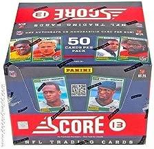 2013 Score Football Jumbo Box - Sports Memorabilia
