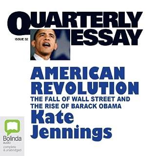 Quarterly Essay 32 audiobook cover art