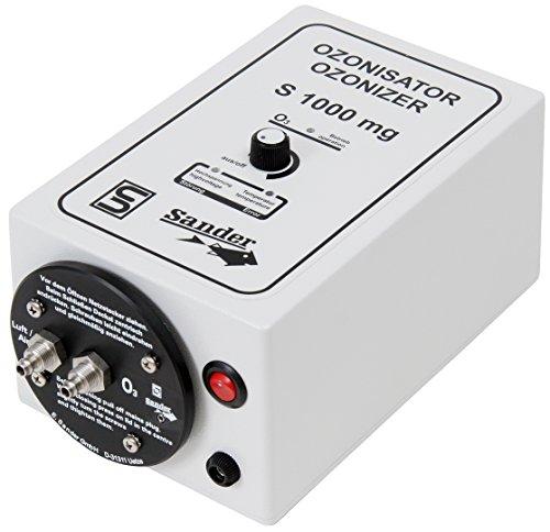 Sander Ozongenerator S-1000, 1000mg/h, max. Teich 20m³, Ozon Ausgang 6mm