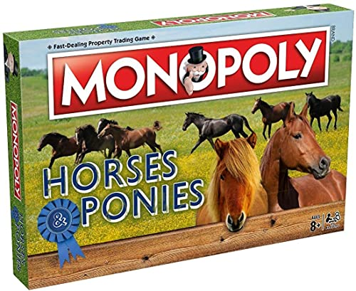 Winning Moves 1656Pferde und Ponys Monopoly Spiel