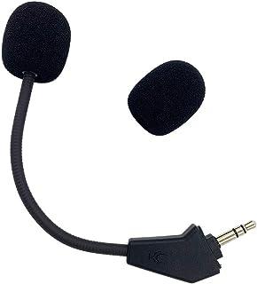 Repuesto de micrófono Corsair HS50, Aux 3,5 mm, piezas de reparación de espuma extra para Corsair HS50 Pro HS60 HS70 SE Au...