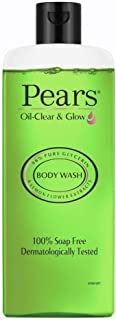 Pears Oil Clear and Glow Shower Gel, 250ml