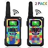 HmiL-U 2-Pack Kids Walkie Talkies