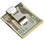Best Money Clips - Personalized Hinged Money Clip with One Line Of Review