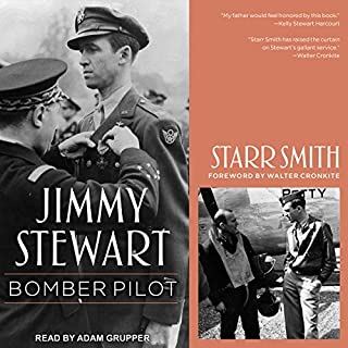 Jimmy Stewart: Bomber Pilot audiobook cover art