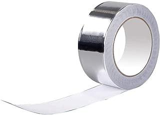 T&B アルミテープ 50mm×20M 0.08mm厚さ 耐熱 保温 防水 保冷 アルミ箔テープ 保温専用 強粘着タイプ 放射線防護 タンパー防護