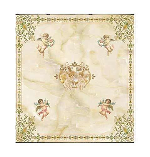 Lczhouou op maat 3d behang plafond muurschilderingen Europese engel fresco's op de geschorste slaapkamer muur Decor 416cmx254cm grootte