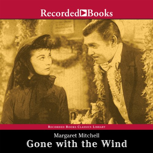 Gone with the Wind audiobook cover art