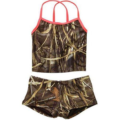 RealTree Camo Girls Tankini Swimsuit Size M 7/8