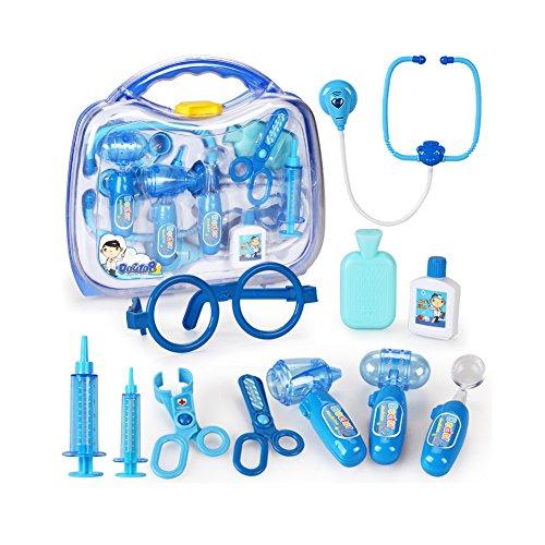 Role Play Game / Définit Jouets Medicine Cabinet du docteur pour Enfants / Bleu