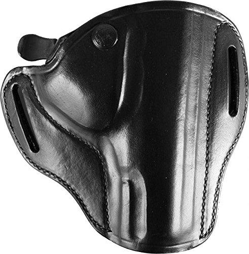 Bianchi® 82 Gürtelholster, Leder (schwarz, rechts, Walther PPS, 45 BL)