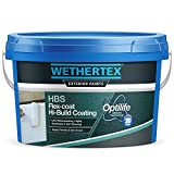 Wethertex HBS Flex-Coat Hi-Build Coating | Heavily Textured Masonry Paint | 15KG (White)