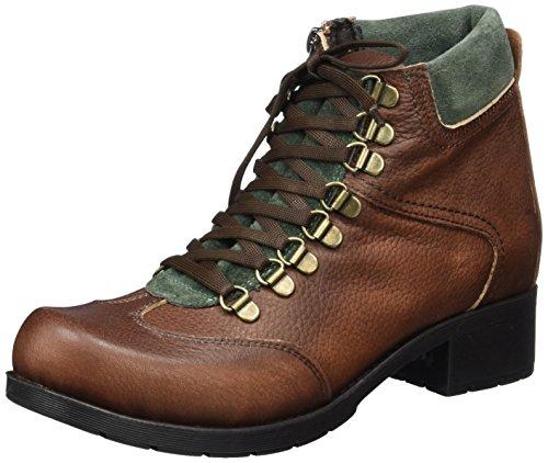 Andrea Conti Damen 0024527 Stiefel, Braun (Dunkelbraun/Kombiniert), 36 EU
