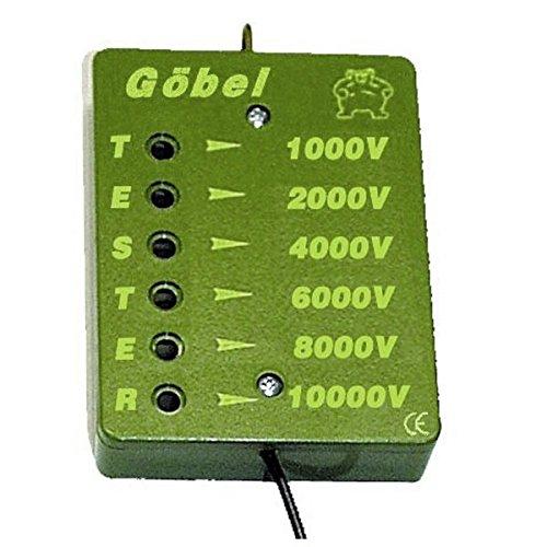 Göbel Weidezaun Zubehör Zaunprüfer Göbel 6 fach 1000 - 10000 Volt für Zaun und Weidezaungerät