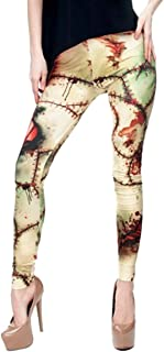 kukubird Various Print Stretchable Women's Gym Fitness Leggings Running Yoga Pilates Skinny Pants Tights