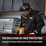 Lincoln Electric OMNIShield Professional Face Shield | High Density Clear Lens | Premium Headgear | K3750-1 Face Protection Evolution