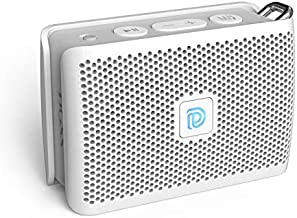Bluetooth Speaker, DOSS Genie Portable Speaker with Clean Sound, Built-in Mic, Ultra-Portable Design, 8 Hours of Playtime, Speaker with Strap for Home, Outdoors, Travel, Gift Ideas- White