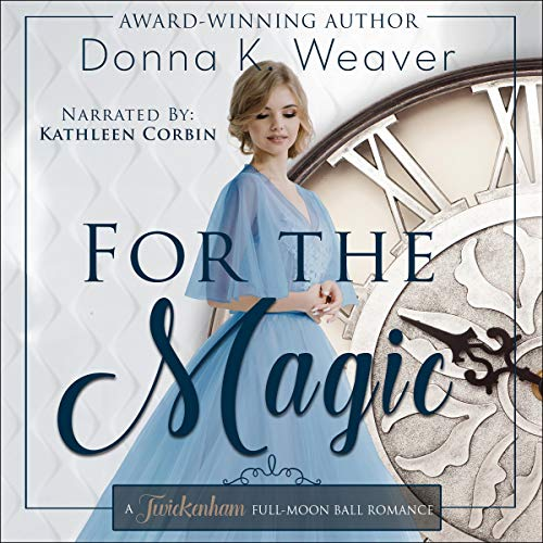 For the Magic audiobook cover art