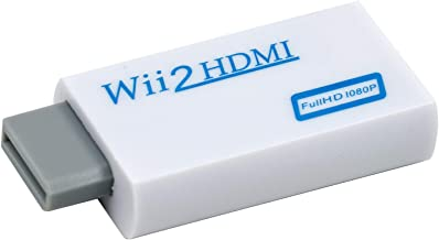 Mcbazel Wii To HDMI Converter Full HD 1080P Video Adapter Converter With 3.5mm audio