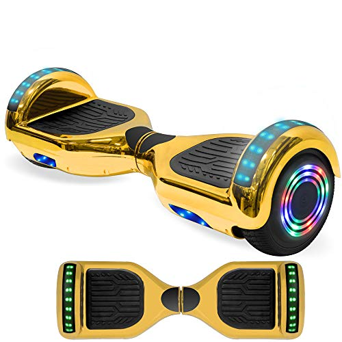 NHT Electric Hoverboard Self Balancing Scooter with Built-in Bluetooth Speaker...