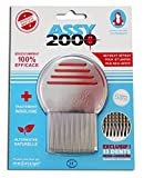 Assy 2000-Peigne À Poux Et Lentes Métal Assy 2000