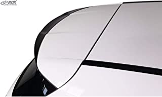 RDX Race Diseño rdds129techo Alerón  Clase A W1762012de (Pur de iHS), Negro