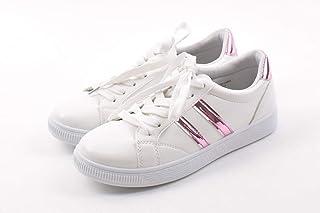 [Shoes in closet] シンプルで合わせやすい?サイド2ラインカジュアルスニーカー【7686】