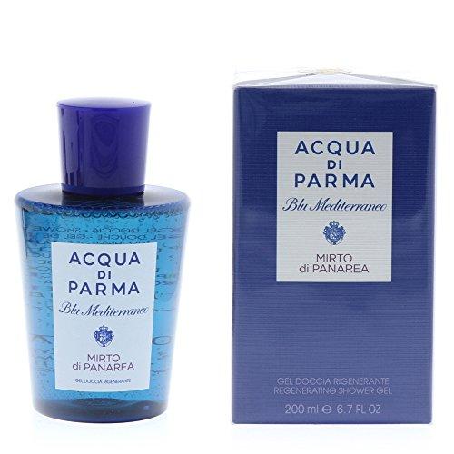 Acqua di Parma Blu Mediterraneo - Gel Doccia Mirto di Panarea, Rigenerante, 200ml