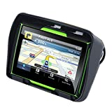 TOOGOO Updated 256M Ram 8Gb Flash 4.3 Inch Moto GPS Navigator Waterproof Bluetooth