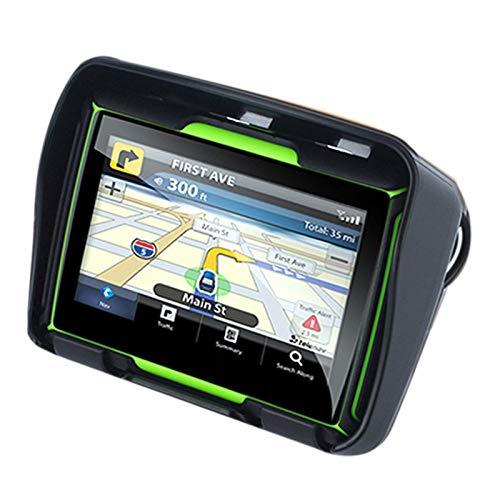 TOOGOO Aggiornato 256M RAM 8GB 4.3 Pollici Moto Navigatore GPS Impermeabile del Motociclo di Bluetooth GPS Auto Navigation Mappa dell'Europa