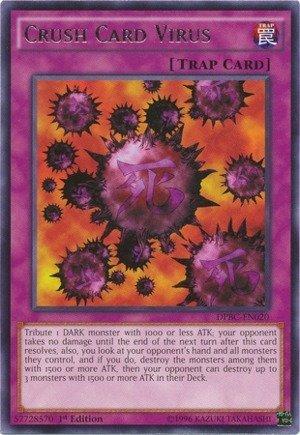 YU-GI-OH! - Crush Card Virus (DPBC-EN020) - Duelist Pack 16: Battle City - 1st Edition - Rare by