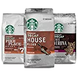 Starbucks Variety Decaf Ground Coffee — Variety Pack — 3 bags (12 oz. each)