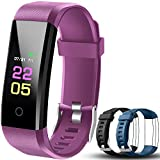 OumuEle Fitness Trackers-kids Fitness Tracker Watch With Heart Rate Monitor, Activity Trackers With Blood Pressure Monitor, Pedometer Watch With Sleep Monitor, Step counter Watch For Kids Women Men
