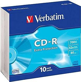 Verbatim 43415 - CDR80 (Case protección Adicional) Color Plata