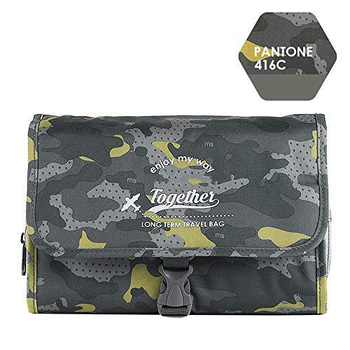 make up bag Voyage Pliant Wash Bags Suspendu Sac Rangement Sacs Toilette Sec et Humide séparation Sac 1
