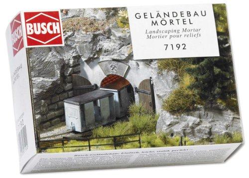 Busch 7192 - Geländebau Mörtel, grau
