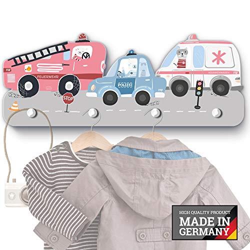 Rettungsautos Kindergarderobe G020