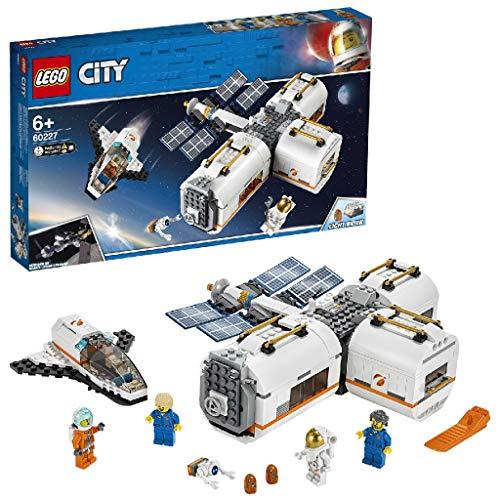LEGO®-City La station spatiale lunaire Enfant de 6 Ans et Plus, Jouet...