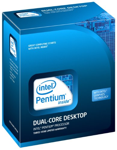 Intel Pentium Dual Core E5500Prozessor, 2.80GHz, LGA1156Sockel BX80571E5500