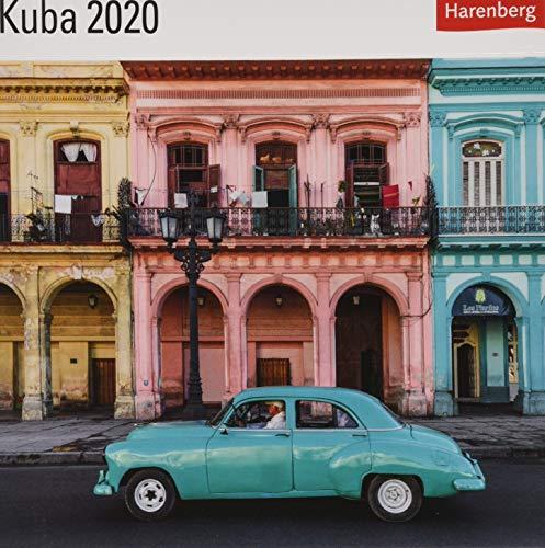 Kuba Postkartenkalender 2020. Wochenkalendarium. Format 16 x 17,5 cm