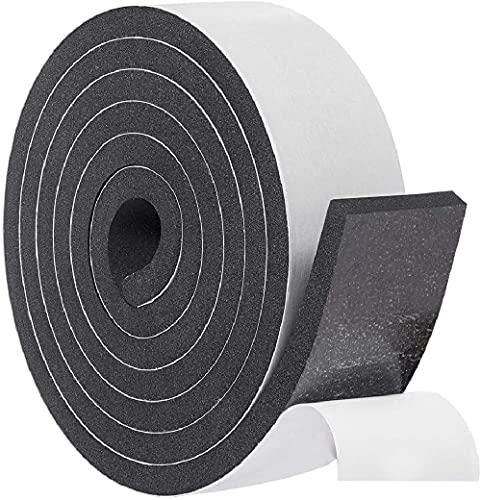 Hat Tape Roll 60' (5 Feet) - Hard Hats Size Reducer Foam Filler - Cap Sizing Strip Insert - for Fedora, Baseball Caps, Pana, Straw, Cowboy, Western