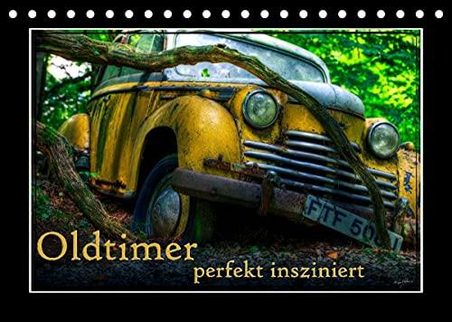Oldtimer perfekt insziniert (Tischkalender 2022 DIN A5 quer)