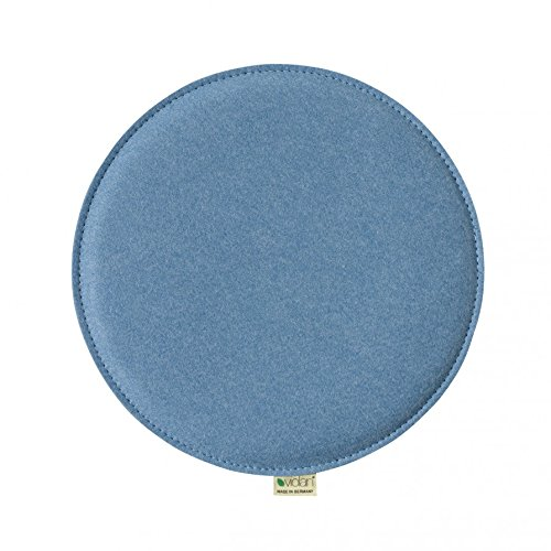 Violan Sitzkissen rund, Ice-Blue